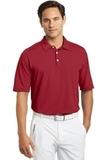 Nike Golf Shirt Dri-FIT Mini Texture Polo Varsity Red Thumbnail