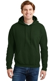 Ultrablend Pullover Hooded Sweatshirt Forest Green Thumbnail