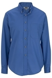 Women's Poplin Shirt LS French Blue Thumbnail