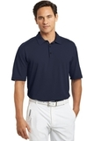 Nike Golf Shirt Dri-FIT Mini Texture Polo Navy Thumbnail