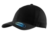 Flexfit Garment Washed Cap Black Thumbnail