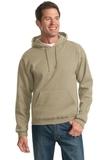 Pullover Hooded Sweatshirt Khaki Thumbnail