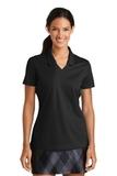 Women's Nike Golf Shirt Dri-FIT Micro Pique Polo Shirt Black Thumbnail