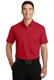 SuperPro Twill Shirt Rich Red Thumbnail