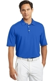 Nike Golf Shirt Dri-FIT Mini Texture Polo Signal Blue Thumbnail