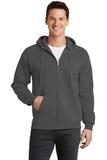 7.8-oz Full-zip Hooded Sweatshirt Charcoal Thumbnail