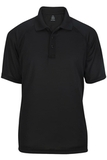 Edwards Men's Tactical Snag-proof Short Sleeve Polo Black Thumbnail