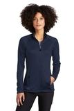 Women's Eddie Bauer Smooth Fleece Base Layer Full-Zip River Blue Navy Thumbnail