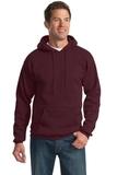 Tall Ultimate Pullover Hooded Sweatshirt Maroon Thumbnail