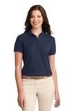 Women's Silk Touch Polo Shirt Navy Thumbnail
