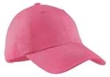 Women's Garment-washed Cap Bright Pink Thumbnail