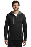 Eddie Bauer Sport Hooded Full-Zip Fleece Jacket Black Thumbnail
