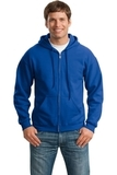 Full-zip Hooded Sweatshirt Royal Thumbnail