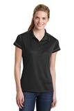 Contrast Stitch Polo Shirt Black Thumbnail