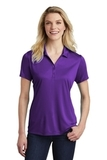 Women's Competitor Polo Purple Thumbnail