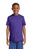 Youth Competitor Tee Purple Thumbnail
