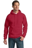 Pullover Hooded Sweatshirt Red Thumbnail