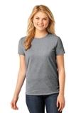 Women's 5.4-oz 100 Cotton T-shirt Athletic Heather Thumbnail