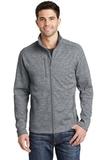 Digi Stripe Fleece Jacket Grey Thumbnail