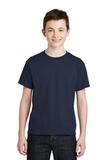 Youth Ultra Blend 50/50 Cotton / Poly T-shirt Navy Thumbnail