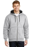 Heavyweight Full-zip Hooded Sweatshirt With Thermal Lining Athletic Heather Thumbnail