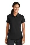 Women's Nike Golf Shirt Nike Sphere Dry Diamond Black Thumbnail