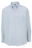Men's Dress Button Down Oxford LS Blue Stripe Thumbnail