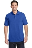 Port Authority Digi Heather Performance Polo True Royal Thumbnail