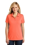 Women's Dry Zone UV MicroMesh Polo Coral Splash Thumbnail