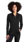 Women's Eddie Bauer Smooth Fleece Base Layer Full-Zip Black Thumbnail