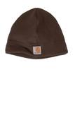 Carhartt Fleece Hat Dark Brown Thumbnail