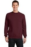 7.8-oz Crewneck Sweatshirt Maroon Thumbnail