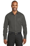 Red House Slim Fit NonIron Twill Shirt Grey Steel Thumbnail