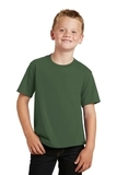 Youth Fan Favorite Tee Olive Thumbnail