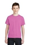 Youth Ultra Blend 50/50 Cotton / Poly T-shirt Azalea Thumbnail