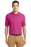 Extended Size Silk Touch Polo Shirt Tropical Pink Thumbnail