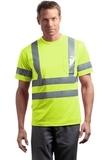Ansi Class 3 Short Sleeve Snag-resistant Reflective T-shirt Safety Yellow Thumbnail