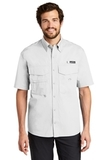 Eddie Bauer Short Sleeve Fishing Shirt White Thumbnail