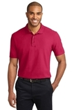 Tall Stain-resistant Polo Shirt Red Thumbnail