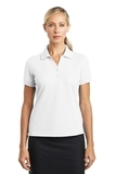 Women's Nike Golf Shirt Dri-fit Classic White Thumbnail