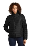 OGIO Ladies Street Puffy Full-Zip Jacket Blacktop Thumbnail