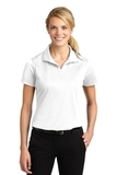 Women's Micropique Moisture Wicking Polo Shirt White Thumbnail
