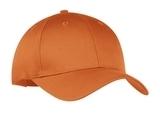 6-panel Twill Cap Texas Orange Thumbnail