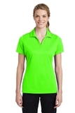 Women's Sport-Tek PosiCharge RacerMesh Polo Neon Green Thumbnail