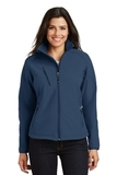 Women's Textured Soft Shell Jacket Insignia Blue Thumbnail