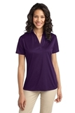 Port Authority Ladies Silk Touch Performance Polo Bright Purple Thumbnail