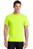 50/50 Cotton / Poly T-shirt Safety Green Thumbnail