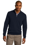 1/2-zip Sweater Navy Thumbnail
