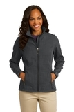 Women's Eddie Bauer Shaded Crosshatch Soft Shell Jacket Grey Thumbnail