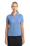 Women's Nike Golf Shirt Dri-fit Classic Light Blue Thumbnail